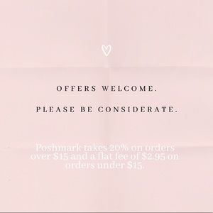 Offers welcome. Please be considerate.